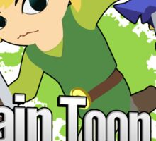 I Main Toon Link - Super Smash Bros. Sticker