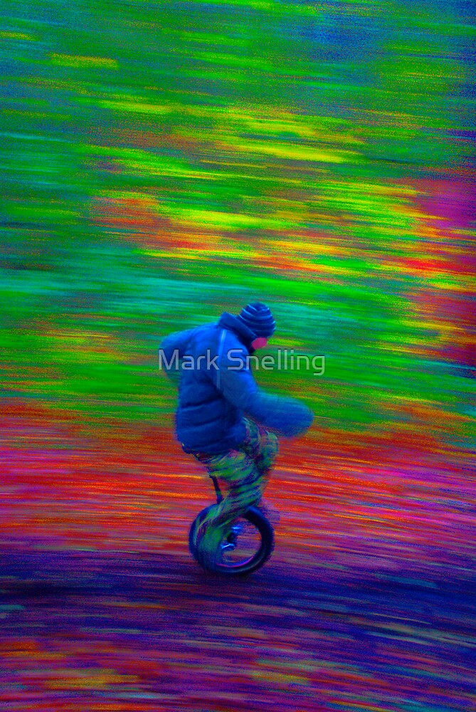 Wheely Colourful by Mark Snelling