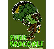 Punk Broccoli Photographic Print