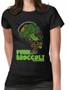 Punk Broccoli Womens Fitted T-Shirt