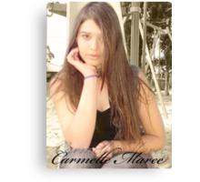 Carmelle Maree :D Canvas Print