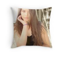 Carmelle Maree :D Throw Pillow