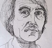 Portrait Study 38. by Richard  Tuvey