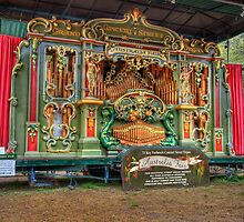 Australia Fair Street Organ by Rod Kashubin