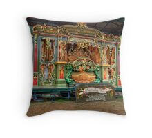 Australia Fair Street Organ Throw Pillow