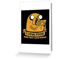 Hate People Greeting Card
