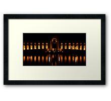 WWII Memorial Framed Print