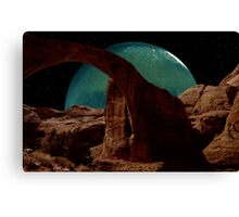 View From Phobos Canvas Print