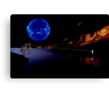 The Enemy Unknown Canvas Print