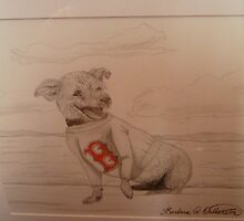 Rosey and the Red Sox by Works By  Barbara