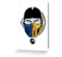 Scorpion and Subzero Greeting Card