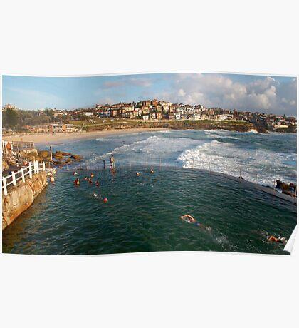 Bronte Ocean Baths Poster