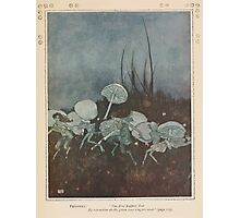 Shakespeare's Comedy of The Tempest - Art by Edmund Dulac - 1915 - 0159 - Prospero - You demi puppets Photographic Print