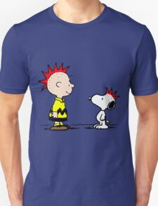 Snoopy & Charlie Brown Punk T-Shirt
