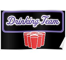 Drinking Team Poster