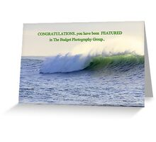 Challenge entry Greeting Card