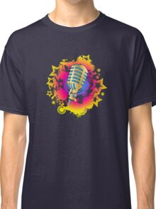 Retro Mic Classic T-Shirt