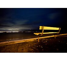 Lonely Dark Nights Ahead Photographic Print