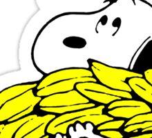 Hungry Snoopy Peanuts Sticker