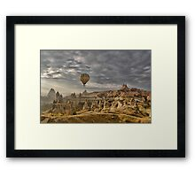 Hot Air Ballooning in Capadocia, Turkey Framed Print