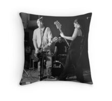 Bass goddess, guitar genius and human metronome. Throw Pillow