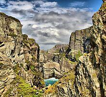 Cliffs in South Western Ireland, HDR by Pierre Vandewalle