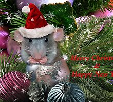 """"""" Merry Christmas From Hammy """" by Melinda Stewart Page"""