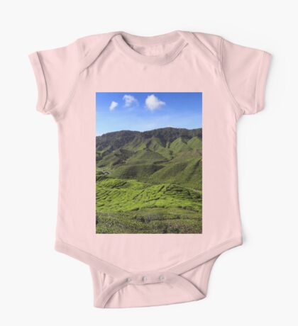 a colourful Indonesia landscape One Piece - Short Sleeve