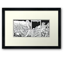 "VIKINGS ""ship in the storm"" Framed Print"