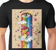 Colorful Surreal Fairy2 Unisex T-Shirt