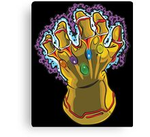 Infinity Gauntlet Canvas Print