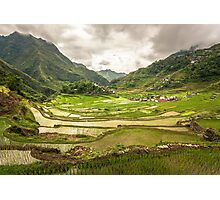 an incredible Indonesia landscape Photographic Print