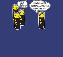 Aa Battery Meeting Funy T-Shirt Tee Unisex T-Shirt