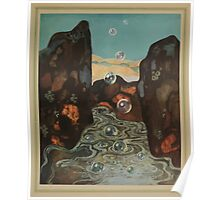 The Dreamer of Dreams - Carmen Sylva - Art by Edmund Dulac - 1900 - 0129 - The Miraculous Bubbles Poster