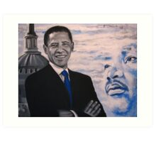 Barak Obama  - I had a Dream Art Print