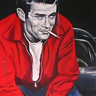 James Dean  by EDee