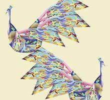 Peacock Dance by Thecla Correya