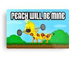 Peach will be mine! Metal Print