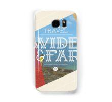 Travel Wide & Far Samsung Galaxy Case/Skin