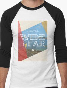 Travel Wide & Far Men's Baseball ¾ T-Shirt