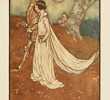 Fairies I Have Met - Rudolph Stawell - Art by Edmund Dulac - 1910 - 0083 - Of Course the Dear Princess Wore the Great Opal by wetdryvac