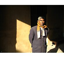 Man of India Photographic Print