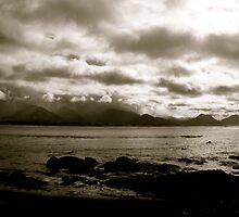Grey skys - Kaikoura , New Zealand by jenuine