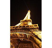 Tour Eiffel de nuit Photographic Print