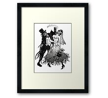 Zombie Wedding Framed Print