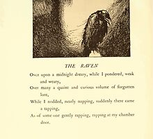 The Bells and Other Poems - Edgar Allan Poe - Art by Edmund Dulac - 1912 - 0038 - The Raven by wetdryvac