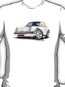 Porsche 911 White T-Shirt