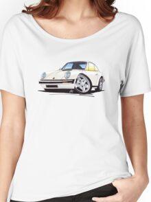 Porsche 911 White Women's Relaxed Fit T-Shirt