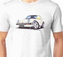 Porsche 911 White Unisex T-Shirt