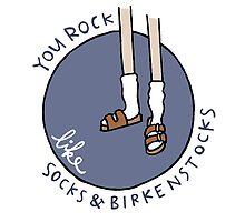 Socks & Birkenstocks by Liana Spiro